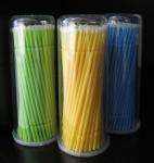 Микроволокнистые щеточки для ресниц 100 шт.